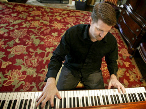 Ryan at the piano