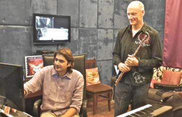 Ricky & Wouter-studio