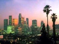 LA dawn