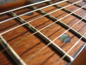 Acoustic-Guitar-fret-board