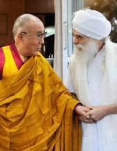 Harijiwan with The Dali Lama
