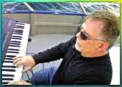 John on keyboard