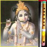 Krishna & bansuri flute